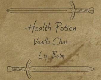 Health Potion Lip Balm - Vanilla Chai Flavored