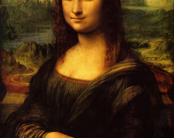 Mona Lisa Oil Painting on Canvas - Hand Made Art Reproduction