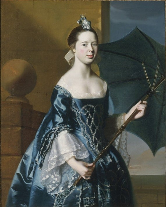 Mercy Otis Warren 18th Century 1700s Colonial Costume