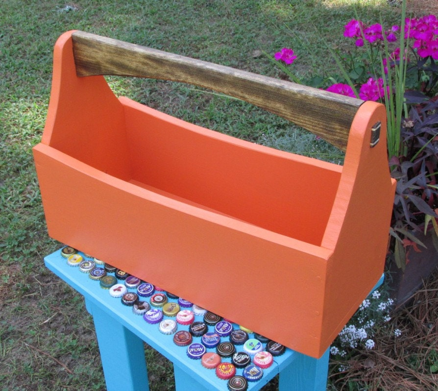 Wood Tool Box Tool Tote Tool Caddy Garden Tote Toolbox