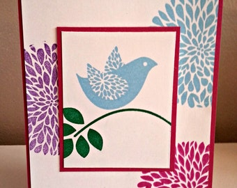 Lovely Bird, Stampin' Up Generic Card