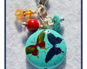 Butterflies and Turquoise!