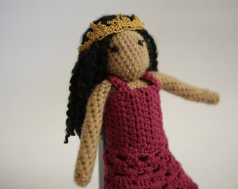 Looks-Like-Me Crochet Princess Doll
