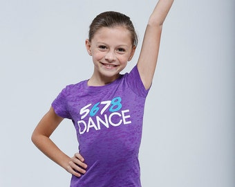 5 6 7 8 DANCE - Girls Burnout Tee