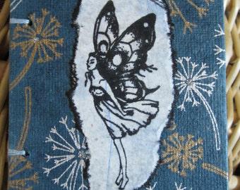 Dandelion fairy mini journal