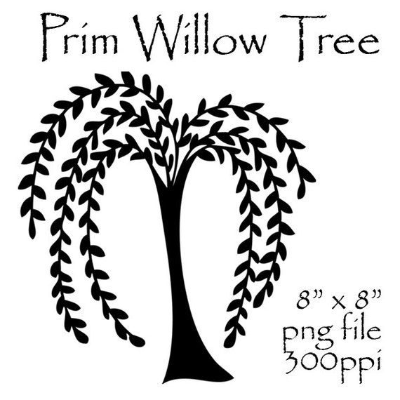 prim willow tree clipart primitive willow by weeping willow tree clipart weeping willow tree clipart