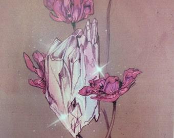 White Magic - Magical / Fantasy Art Print