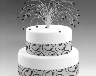 wedding cake toppers sparklers popular items for birthday cake topper on etsy 26597