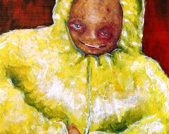 Puffy Pinkman - Breaking Bad Fan Art Print 8x11 by Mike Boston