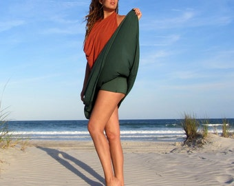 ORGANIC Wanderer Long Skort ( organic tissue cotton ) organic skirt