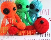 Made to Order - Amigurumi Custom Colour Mood Voodoo Doll
