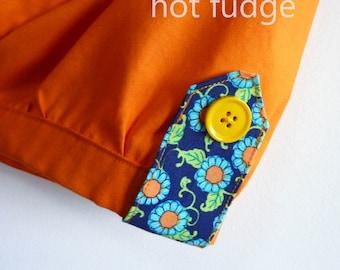 50% OFF Girl's Bubble Shorts, Orange Sherbet, size 5,