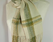 Handwoven All-Season Cotton Scarf for Men or Women Handmade by FrederickAvenue