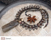 Damara - Original, One of a Kind Beaded Necklace by Michelle Bush