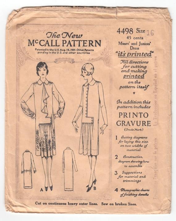 Vintage 1920 Muster nähen