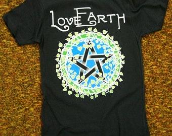 Love Earth viney pentacle ladies tee