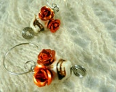 CLEARANCE* I Put a Spell on You - Sugar Skull VooDoo Earrings