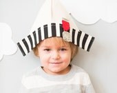 The Canvas Paper Hat