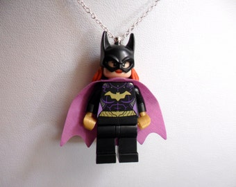 Batgirl Necklace