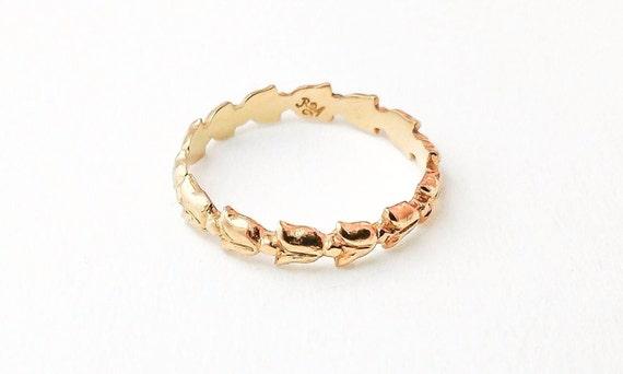 Tulip Ring (14K yellow gold)