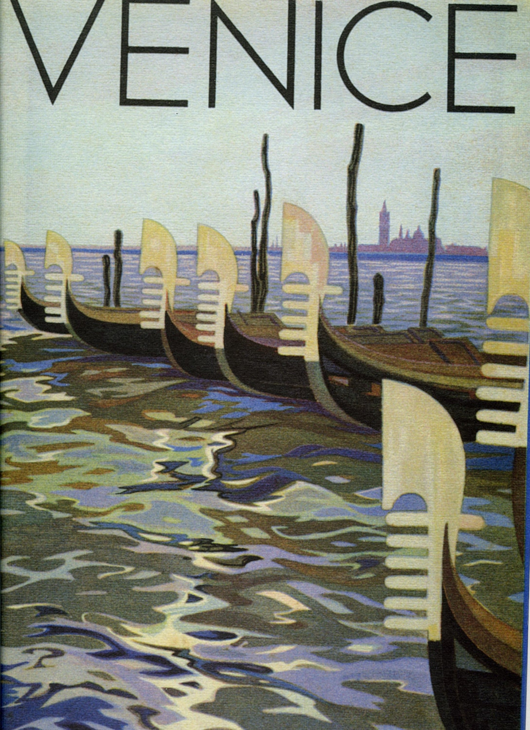 Vintage travel poster venice italy circa 1933 for Poster prints for sale