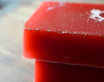 Pomegranate Basil Soap - Handmade Glycerin Soap