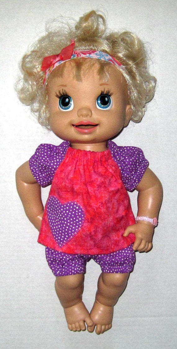 Baby Alive Pink and Purple Bloomer Set Fits 16 by