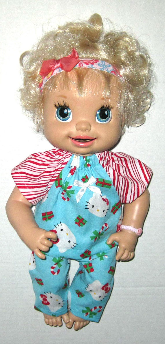 Super Snackin Sara Real Baby Alive Doll Clothes by