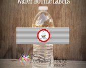 Yo Ho Pirate Party - Set of 12 Pirate Party Water Bottle Labels by The Birthday House