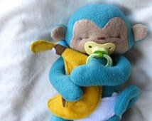 Tiny Monkey PDF Sewing Pattern