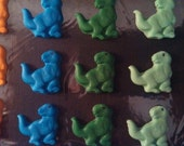 Fondant Dinosaurs-Tyronnosaurus Rex-Set of 12-Fondant Cake/Cupcake Toppers