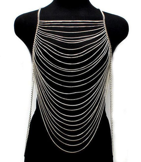 Items similar to Body Chain Plus Size, Plus Size 3X, Plus ...
