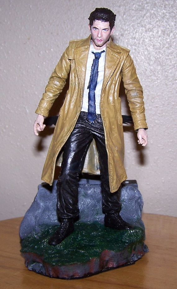 Supernatural Custom Figure Castiel Misha Collins Angel Wing