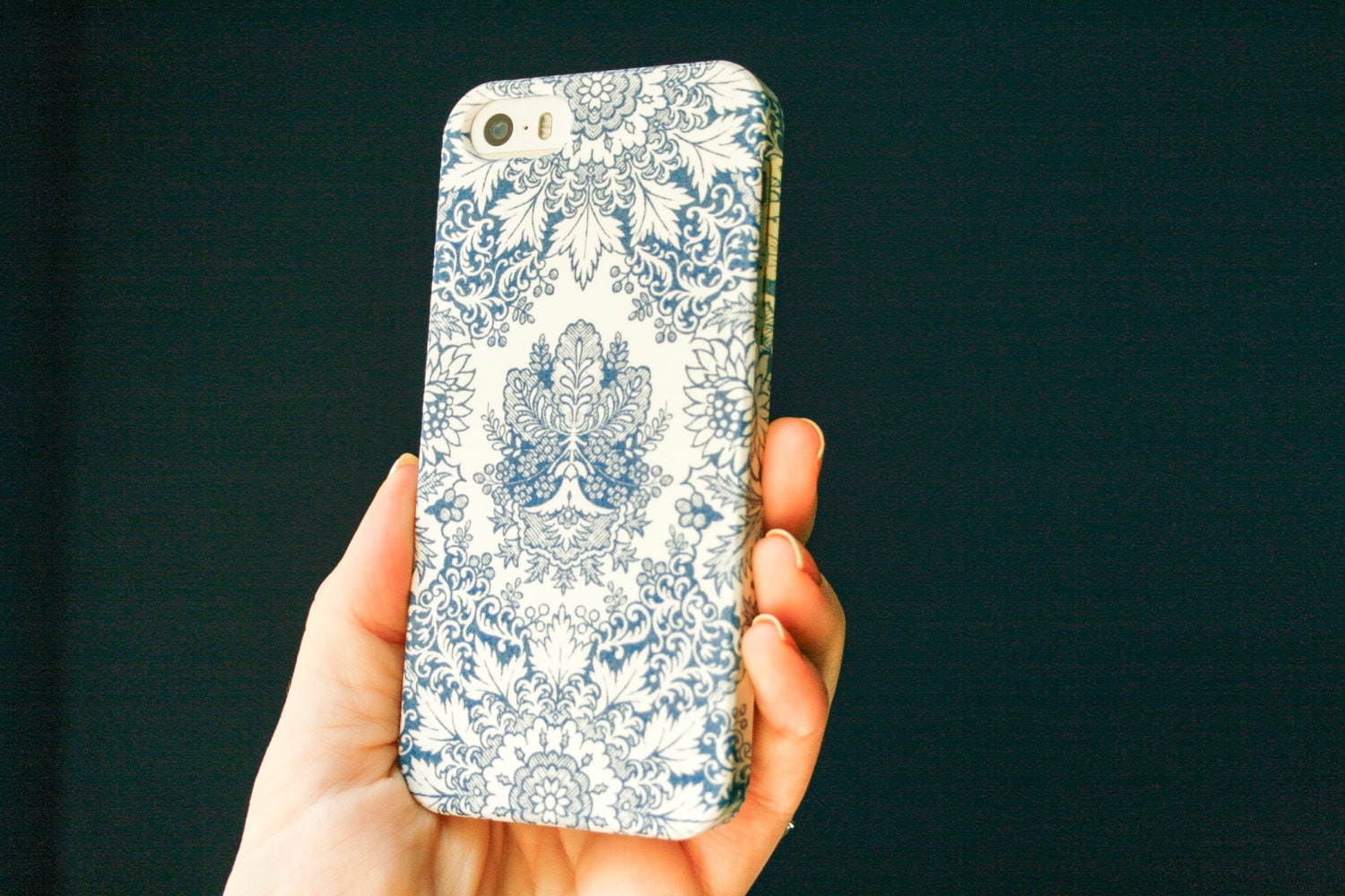 Indigo iPhone 6 Case Bohemian Blue iPhone SE Case Pattern | 1500 x 1000 jpeg 301kB