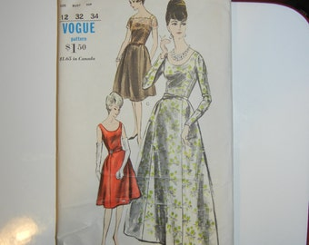 Vogue 6015 pattern complete early 1960s