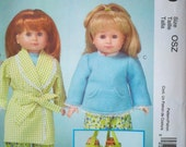 """REDUCED - Doll Clothes & Accessories - 18"""" doll - McCall's M5019 Pattern - UNCUT"""