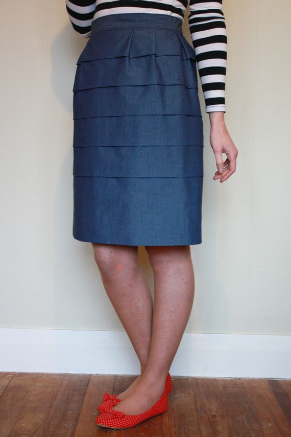 Dalloway dress and skirt pattern by Jennifer Lauren Handmade