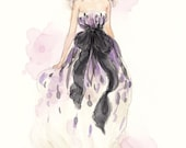 Custom Fashion Illustration by Reani on Etsy