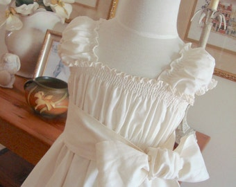 Flower Girl Dress Sister Special Occasion  Size 6m to 14 Choice of Colors Juvie Moon Designs