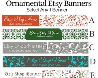 Shop Banners - Ornamental Selections 1