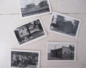 Vintage Greenfield Village, Souvenir Photographs, 1960s