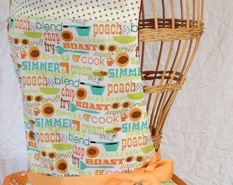 Blazing Cookout Full Apron