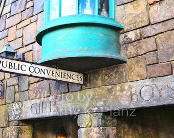 5x7 Harry Potter Public Conveniences Photo