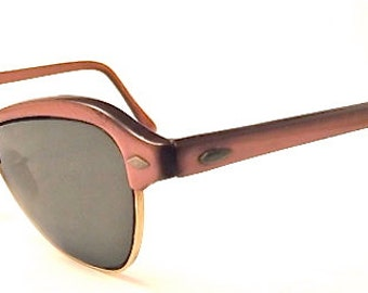 1950s Cats Eye Glasses // 50s Vintage Catseyes Frames // Muted Copper // Imperial Brand USA