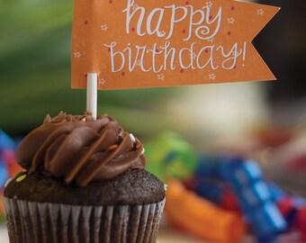 Happy Birthday! treat toppers