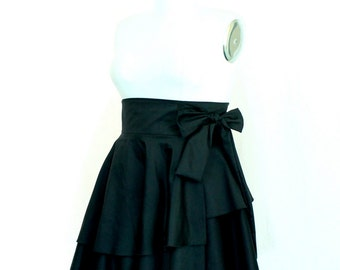 Plus Size Tiered Plus Size Clothing Wrap Skirt ( 2 - 24 )