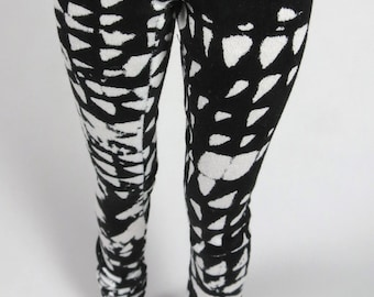 Black and White Print MSD SD Pants