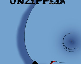 Unzipped Issue 1 Erotic Digital Comic naughty Cover Full Colour
