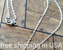 sterling silver rose necklace rosette FREE SHIPPING