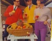 1967 Vintage Spinnerin 'Gentlemen Prefer' Knit Pattern Book